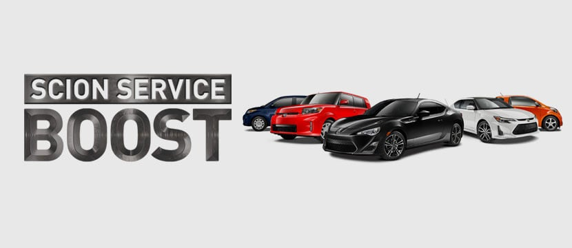 Scion Service Boost West Springfield Balise Toyota