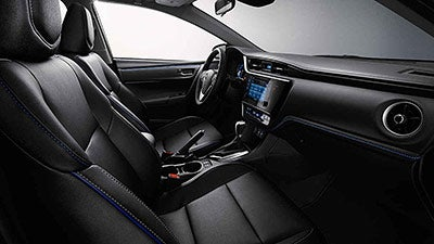 2017 Toyota Corolla West Springfield Ma Interior