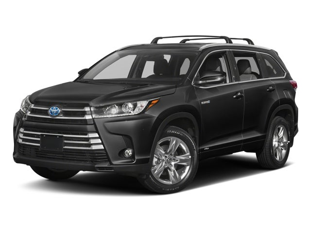2018 Toyota Highlander Hybrid Limited Platinum Demo In West Springfield Ma Balise