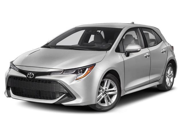2019 Toyota Corolla Hatchback Xse Manual Toyota Dealer Serving