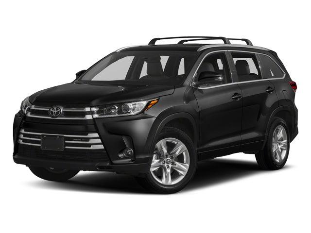 2018 Toyota Highlander Limited Toyota Dealer Serving