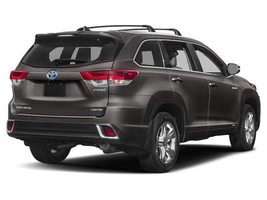 2019 Toyota Highlander Hybrid XLE - Toyota dealer serving ...