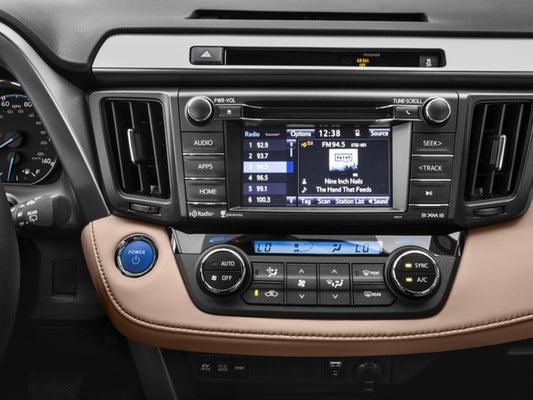 2016 Toyota Rav4 Hybrid Xle Awd In West Springfield Ma Balise