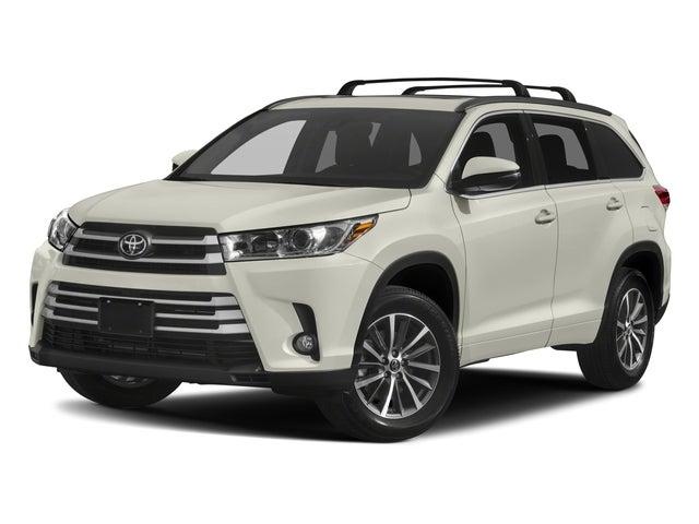 2018 Toyota Highlander Xle Toyota Dealer Serving West